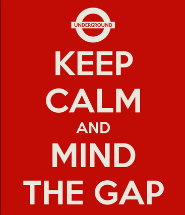 Mind the gap 1