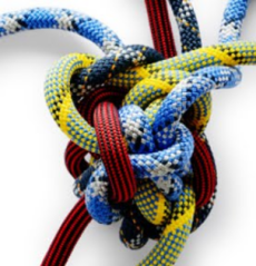 Complexity in innovation knot