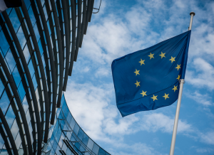 European Commission and Flag