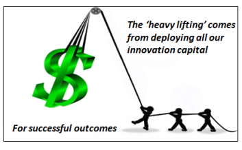 Heavy lifting of Capital outcomes