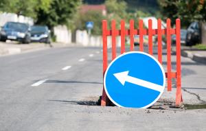 Sinkholes or potholes