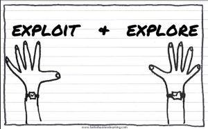 Exploit and Explore