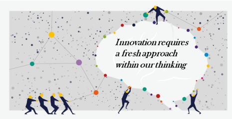 Innovation requires a fresh approach